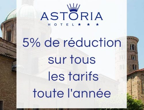 5% de réduction sur tous les tarifs
